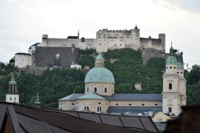 Finally in Salzburg!